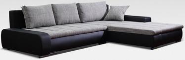 Stūra dīvāns Platan Solano 03 Black/Grey, 272 x 183 x 82 cm