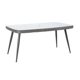 Dārza galds Home4you Retro Gray, 90 x 160 x 75 cm