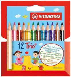 Stabilo Trio Thick Mini Pencils 12pcs