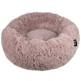Кровать для животных VLX Fuzz L, песочный, 800 мм x 800 мм