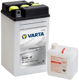 Akumulators Varta Powersports Freshpack SLI B49-6, 6 V, 8 Ah