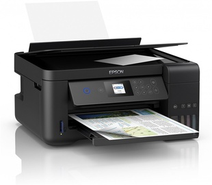 Многофункциональный принтер Epson L4160, струйный, цветной