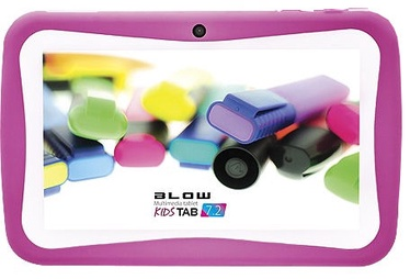 "Planšetdators Blow KidsTAB 7.0, rozā, 7"", 512MB/8GB"