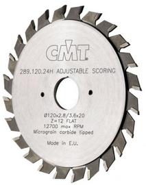 CMT Scoring Blade Ajustable Z24 120x22