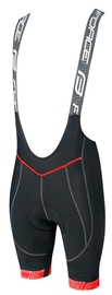 Force Fame Bibshorts Black/Red XL