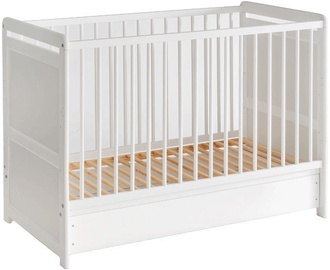 ASM Tymek Plus Baby Cot White
