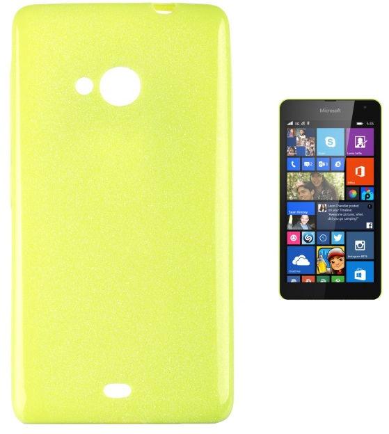 Telone Candy Ultra Slim Back Case For Microsoft 535 Lumia Light Green