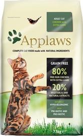 Sausā kaķu barība Applaws Adult Cat Food Chicken & Extra Lamb 2kg