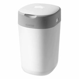 Tommee Tippee Twist & Click Diaper Disposal Bin Cotton White