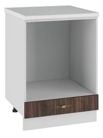 DSV Imperia SD 600 Kitchen Bottom Cabinet Walnut