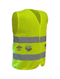 6001XS Reflective Vest for Kids Yellow XS