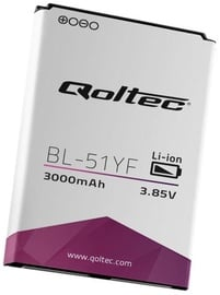 Qoltec Battery For LG G4 3000mAh