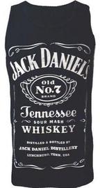 Bioworld Jack Daniels Mens Top S Black