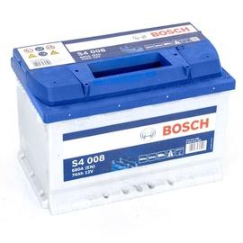 Akumulators Bosch S4, 12 V, 74 Ah, 680 A