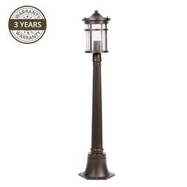 Lampa Domoletti Infinity 033-PS, 1x60W, E27, IP43, melna