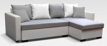 Stūra dīvāns Platan Karol 06 Grey, 230 x 140 x 80 cm
