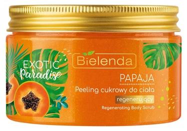 Ķermeņa skrubis Bielenda Exotic Paradise Sugar Scrub Papaya, 350 ml