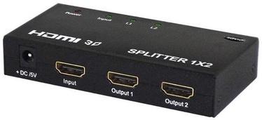 Savio CL-42 Video Splitter HDMI 1x2 HDMI Black