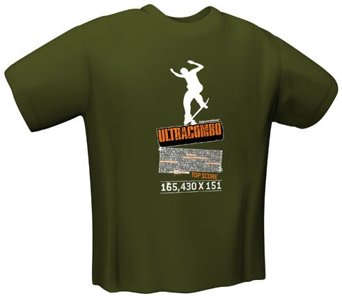 GamersWear Ultracombo T-Shirt Olive S