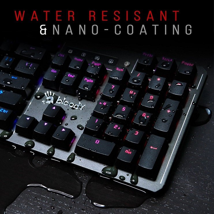 A4Tech Bloody B975 Mechanical Gaming Keyboard Brown Switch