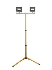 Светодиодный прожектор с подставкой E023, 2x20W, 4000K, IP65