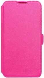Telone Super Slim Shine Book Case For Samsung Galaxy J7 J730F Pink