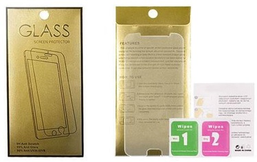 Gold Tempered Glass Screen Protector For Samsung Galaxy A12