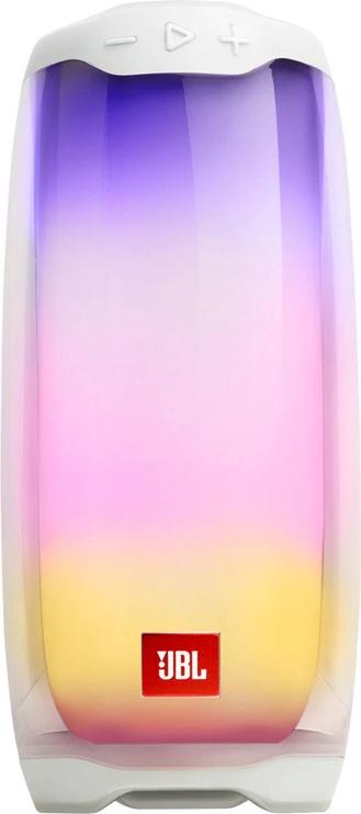 Bezvadu skaļrunis JBL JBL Pulse 4, balta, 20 W