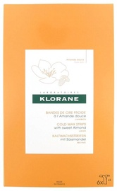 Klorane Cold Wax Strips With Sweet Almond 6pcs