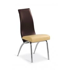 Ēdamistabas krēsls Halmar K2 Beige/Brown