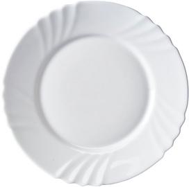 Galicja Glass Plate White 25cm