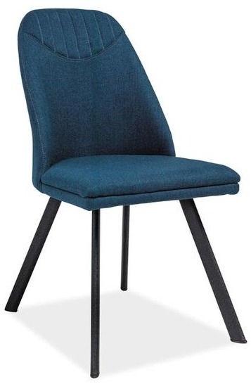 Ēdamistabas krēsls Signal Meble Pablo Navy, 1 gab.