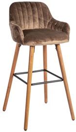 Bāra krēsls Home4you Ariel Brown, 1 gab.