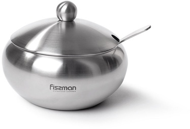 Fissman Sugar Bowl With Steel Lid And Spoon 560ml