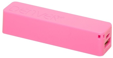 Ārējs akumulators Denver PBA-2600 Pink, 2600 mAh
