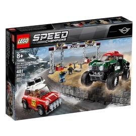 Konstruktors LEGO Speed Champions 1967 Mini Cooper S Rally and 2018 MINI John Cooper Works Buggy 75894