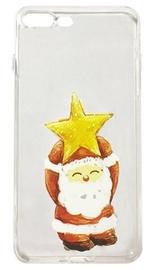Mocco Trendy Santa Back Case For Huawei P10 Lite White