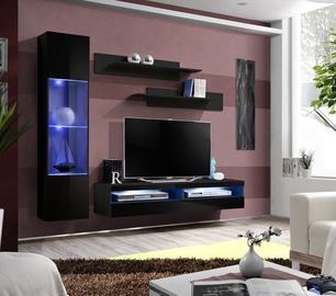Dzīvojamās istabas mēbeļu komplekts ASM Fly R9 Black