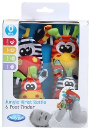 Playgro Jungle Wrist Rattle & Foot Finder Set 0183077