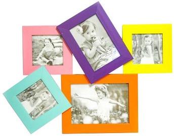 Avatar Photo Frame For 5 Photos Coloured