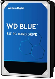 "Western Digital Blue 3.5"" PC Hard Drive 4TB 256MB 5400RPM WD40EZAZ"