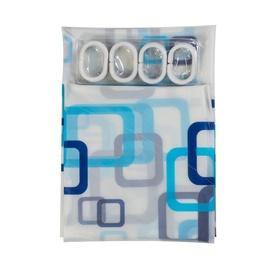 Штора для ванной Home Accents PED-003, 1800x1800 мм