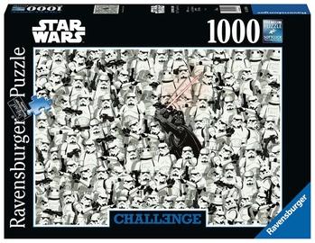 Puzle Ravensburger Challenge Star Wars 14989, 1000 gab.