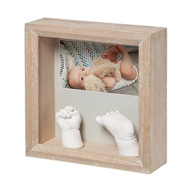 Baby Art My Baby 3D Sculpture Wooden Frame