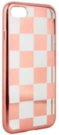 Mocco ElectroPlate Chess Back Case For Apple iPhone 7 Plus/8 Plus Rose Gold