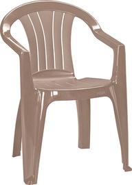 Dārza krēsls Keter Sicilia, smilškrāsas, 56x58x79 cm