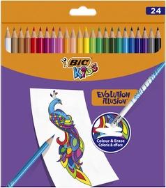 Цветные карандаши Bic, 987869, 24 шт.