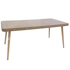Dārza galds Domoletti J5117 Grey, 180 x 90 x 75 cm