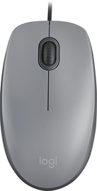 Logitech M110 Silent Optical Mouse Mid Gray