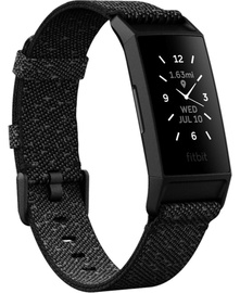 Fitnesa aproce Fitbit Charge 4 Special Edition, melna